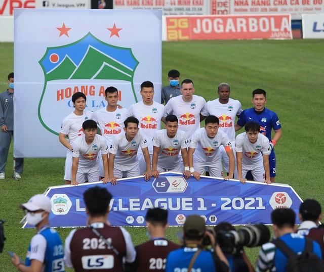 Chùm ảnh: Công Phượng ghi bàn, Hoàng Anh Gia Lai giành 3 điểm trước Đông Á Thanh Hóa - Ảnh 2.