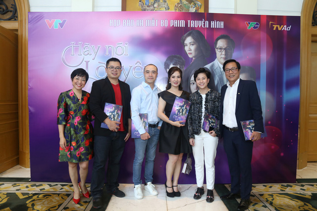 Quỳnh Kool diện váy xẻ sâu trong họp báo phim mới Hãy nói lời yêu - Ảnh 5.