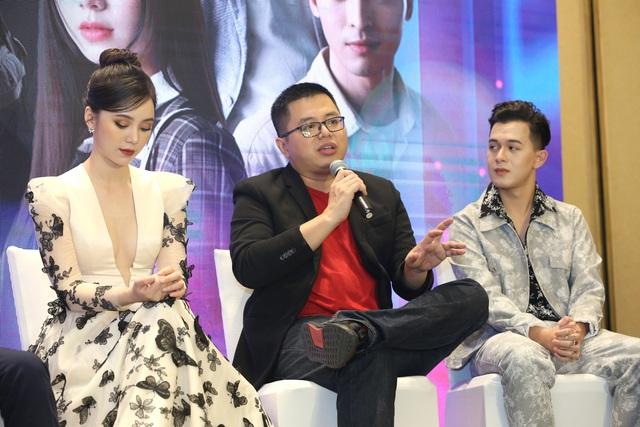Quỳnh Kool diện váy xẻ sâu trong họp báo phim mới Hãy nói lời yêu - Ảnh 19.