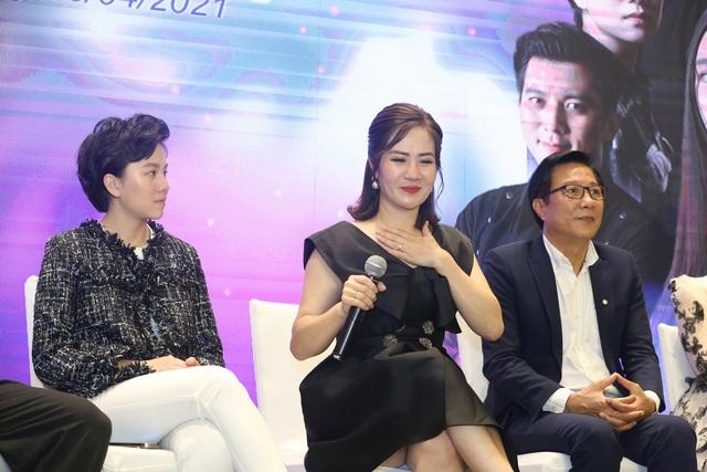 Quỳnh Kool diện váy xẻ sâu trong họp báo phim mới Hãy nói lời yêu - Ảnh 21.