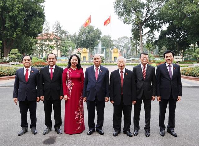 Bàn giao công tác giữa Tổng Bí thư và Chủ tịch nước - Ảnh 2.