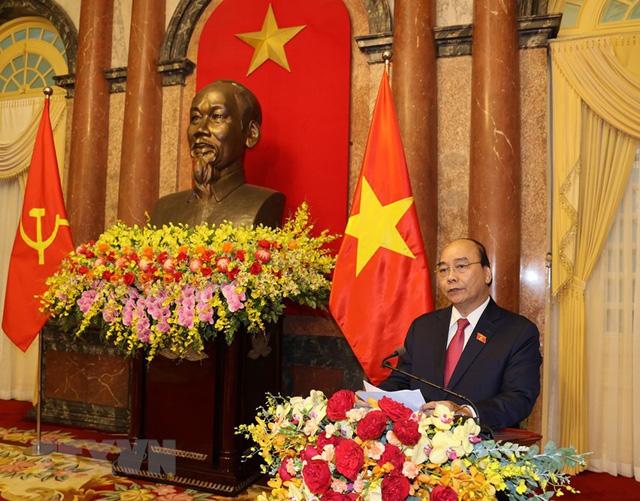 Bàn giao công tác giữa Tổng Bí thư và Chủ tịch nước - Ảnh 1.