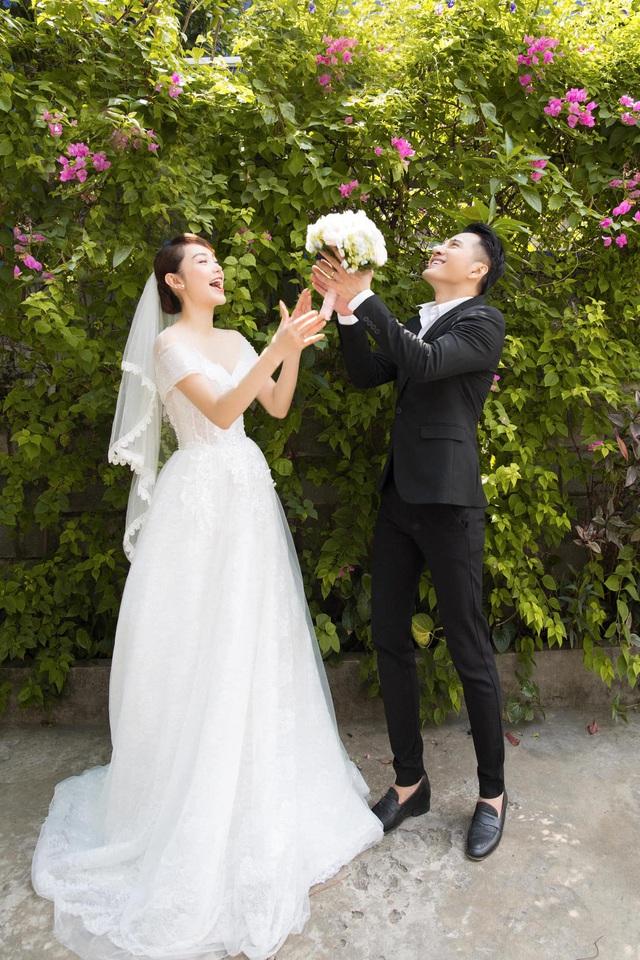 Minh Hằng khoe ảnh cưới với Hotboy nổi loạn 2 Trần Huy Anh - Ảnh 2.