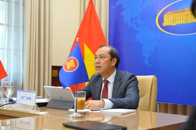 ASEAN bàn về phòng chống COVID-19, biện pháp hỗ trợ Myanmar - Ảnh 1.