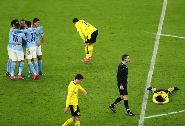 Kết quả UEFA Champions League sáng 7/4: Real Madrid 3-1 Liverpool, Man City 2-1 Dortmund - Ảnh 2.