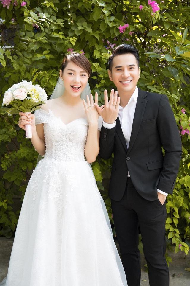 Minh Hằng khoe ảnh cưới với Hotboy nổi loạn 2 Trần Huy Anh - Ảnh 3.
