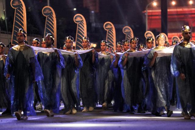 22 xác ướp được diễu hànhtrên đường phố Cairo (Ai Cập) - Ảnh 2.