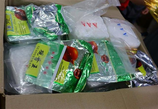 Triệt phá băng nhóm tội phạm mua bán, vận chuyển trái phép gần 60 kg ma túy tổng hợp - Ảnh 7.