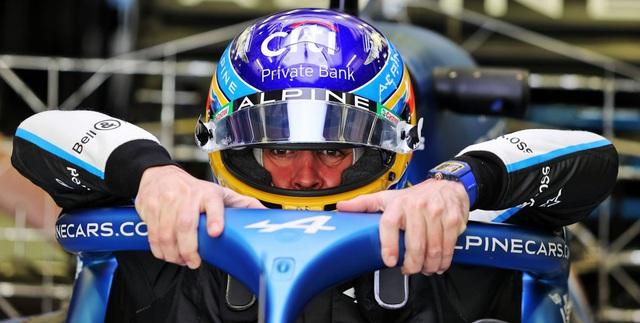 Fernando Alonso không đặt mục tiêu vô địch mùa 2021 - Ảnh 1.
