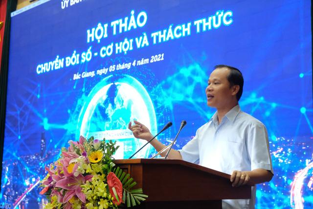 Bắc Giang đặt mục tiêu lọt top 15 địa phương chuyển đổi số đứng đầu cả nước - Ảnh 1.