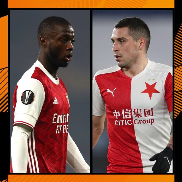Lịch thi đấu tứ kết Europa League đêm nay: Granada - Man Utd, Arsenal - Slavia Praha - Ảnh 1.