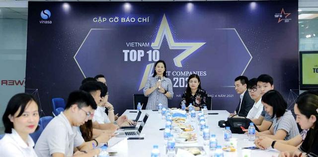 Phát động giải thưởng Top 10 doanh nghiệp ICT Việt Nam 2021 - Ảnh 1.