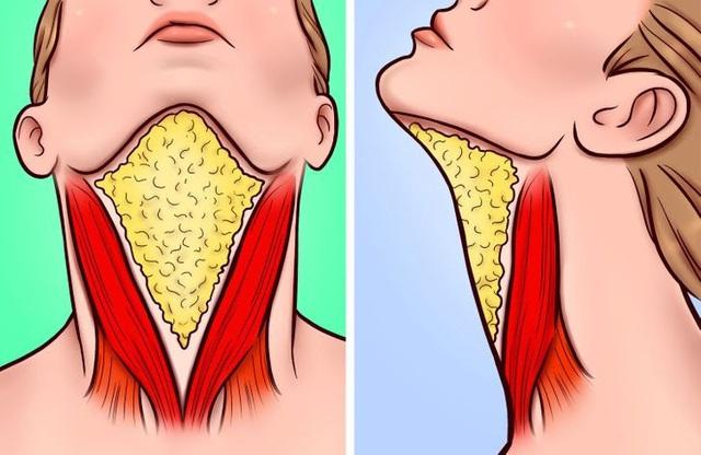 Đánh bay nọng cằm chỉ cần đặt lưỡi đúng vị trí - ảnh 2