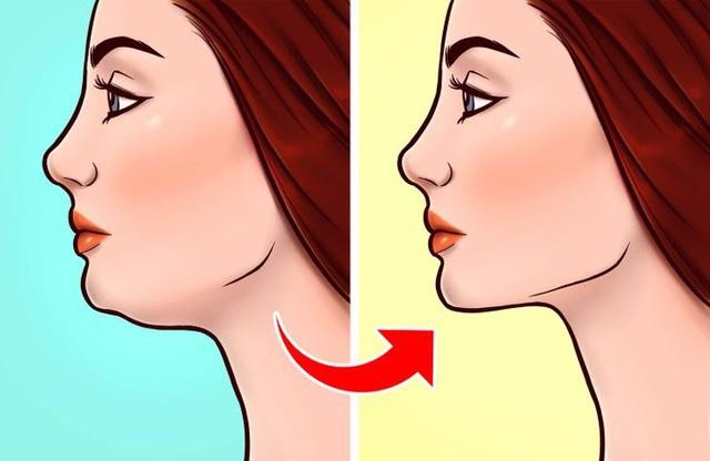 Đánh bay nọng cằm chỉ cần đặt lưỡi đúng vị trí - ảnh 4