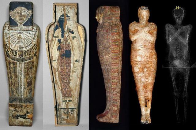 Ai Cập phát hiện xác ướp mang thai đầu tiên trên thế giới - ảnh 1