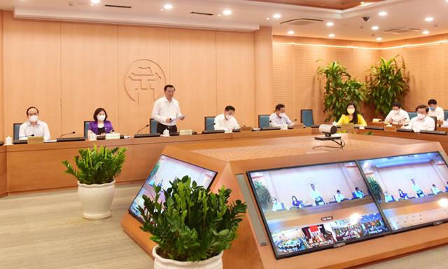 Bí thư Thành ủy Hà Nội: Dập dịch nhưng không phong tỏa cực đoan, ngăn sông cấm chợ - Ảnh 1.