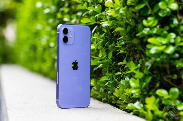 """iPhone 12 """"tím thuỷ chung"""" lên kệ tại Việt Nam - Ảnh 1."""
