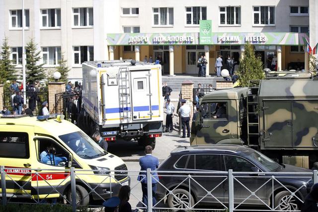 Xả súng ở trường học tại Nga, ít nhất 11 người thiệt mạng - Ảnh 1.