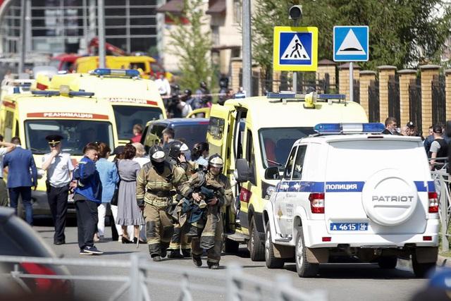 Xả súng ở trường học tại Nga, ít nhất 11 người thiệt mạng - Ảnh 2.