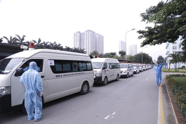 Bệnh viện K chuyển 500 bệnh nhân và người nhà đến khu cách ly - Ảnh 1.