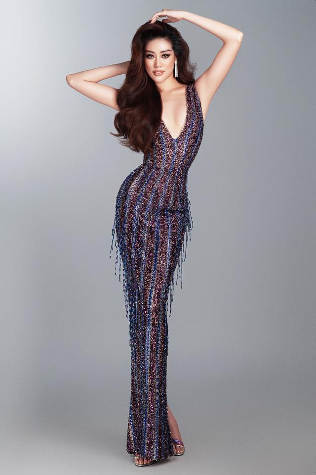 Khánh Vân hé lộ bộ ảnh dạ hội trước thềm Bán kết Miss Universe - Ảnh 6.
