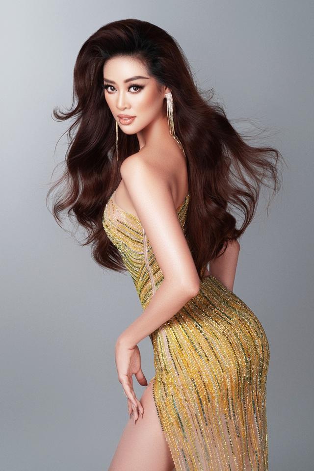 Khánh Vân hé lộ bộ ảnh dạ hội trước thềm Bán kết Miss Universe - Ảnh 3.
