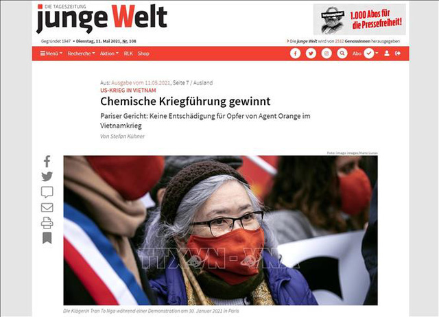 Truyền thông Đức đăng nhiều tin bài về cuộc chiến vì công lý của bà Trần Tố Nga - Ảnh 1.