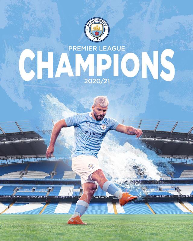 Man City vô địch sớm Ngoại hạng Anh: Aguero xác lập kỷ lục trong lịch sử nửa xanh thành Manchester - Ảnh 2.