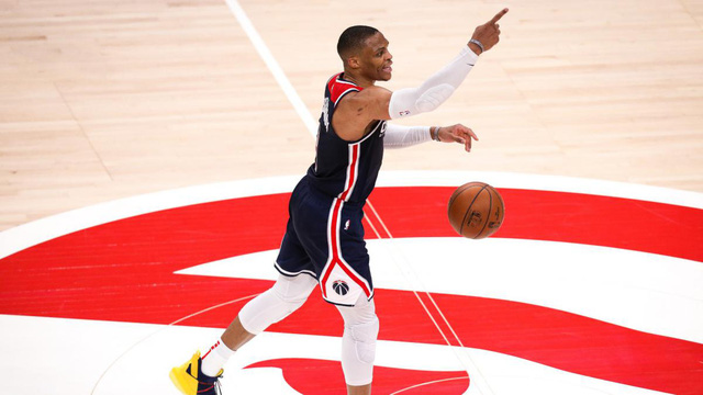 Russell Westbrook lập cột mốc lịch sử của NBA - Ảnh 1.