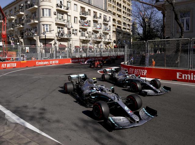 F1 đạt thỏa thuận gia hạn hợp đồng với GP Azerbaijan - Ảnh 1.
