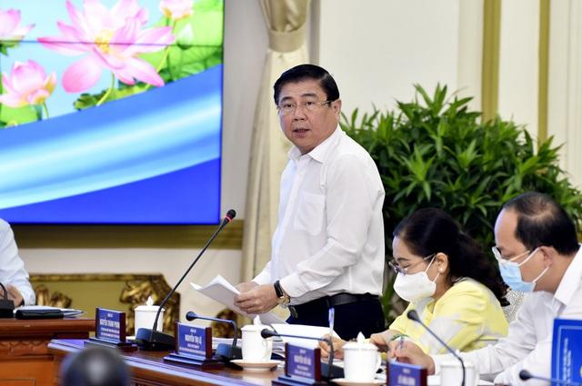 Thủ tướng Phạm Minh Chính làm việc với TP Hồ Chí Minh để giải quyết những vấn đề cấp bách - Ảnh 3.