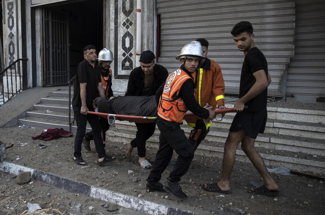 Hơn 100 người Palestine thiệt mạng vì xung đột ở Dải Gaza - Ảnh 3.