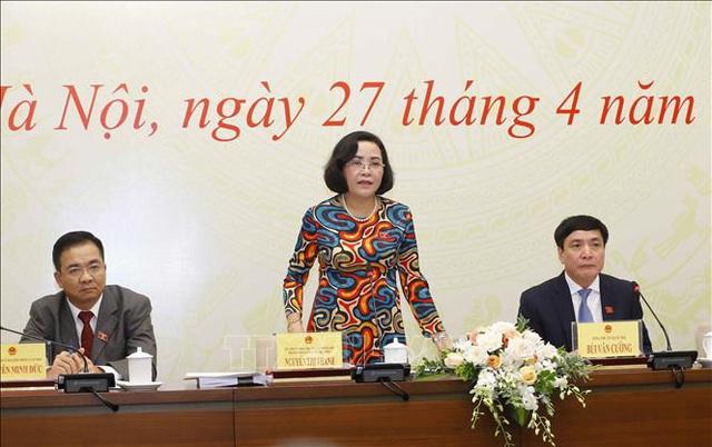 Hội đồng Bầu cử Quốc gia quyết định việc rút tên khỏi danh sách chính thức những người ứng cử ĐBQH - Ảnh 1.