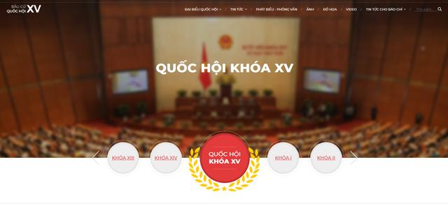 TTXVN ra mắt trang thông tin đặc biệt về bầu cử Quốc hội khóa XV và HĐND các cấp nhiệm kỳ 2021-2026 - Ảnh 1.