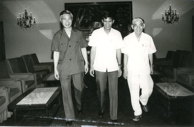 Tiếp tục phát huy tư duy đối ngoại của nhà ngoại giao tài ba Nguyễn Cơ Thạch - Ảnh 1.