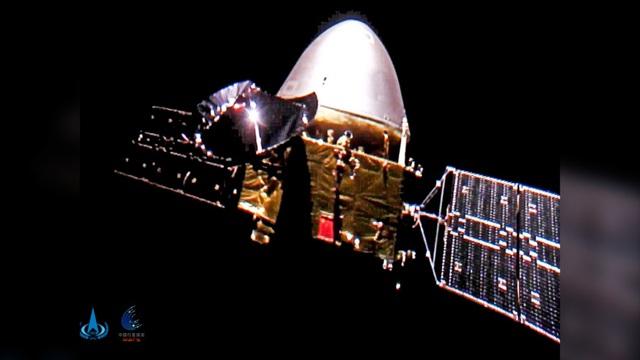 Tàu thăm dò Trung Quốc hạ cánh thành công xuống sao Hỏa - Ảnh 1.