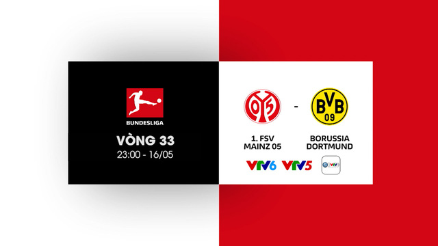 Lịch thi đấu và trực tiếp vòng 33 Bundesliga: Tâm điểm Dortmund, Leipzig, cuộc đua tốp 4 - Ảnh 3.