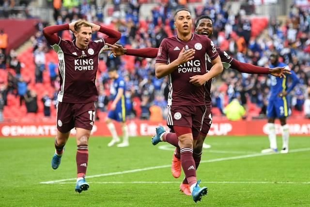 Hạ Chelsea, Leicester City giành chức vô địch FA Cup - Ảnh 3.