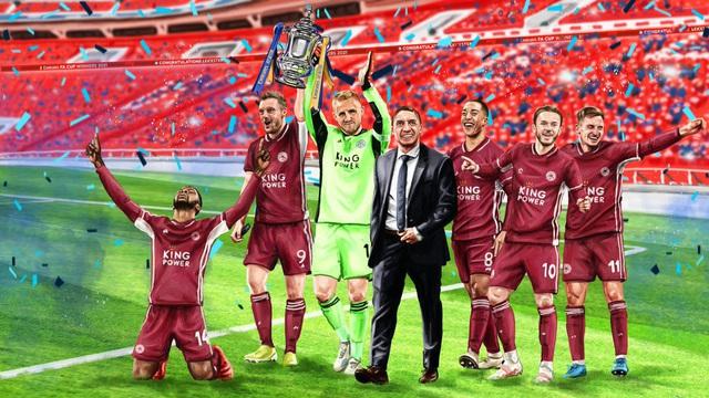 Hạ Chelsea, Leicester City giành chức vô địch FA Cup - Ảnh 9.