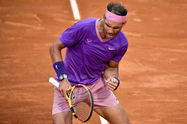 Vượt qua Djokovic, Nadal lần thứ 10 vô địch Italia mở rộng 2021 - Ảnh 1.