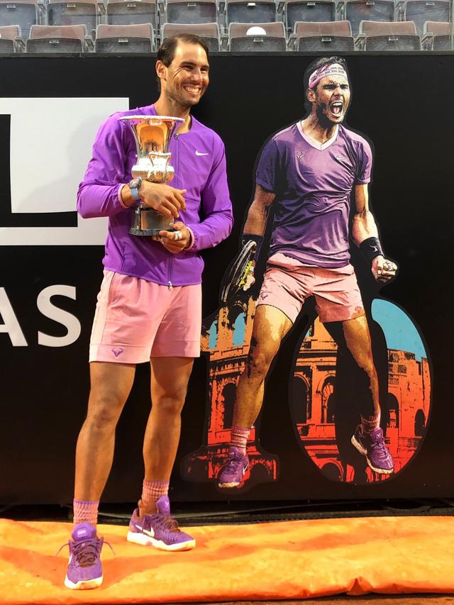 Vượt qua Djokovic, Nadal lần thứ 10 vô địch Italia mở rộng 2021 - Ảnh 6.