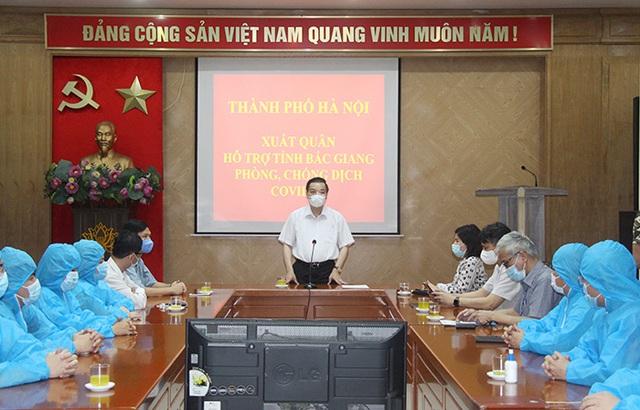 20 y, bác sĩ Hà Nội chi viện Bắc Giang phòng chống dịch COVID-19 - Ảnh 1.