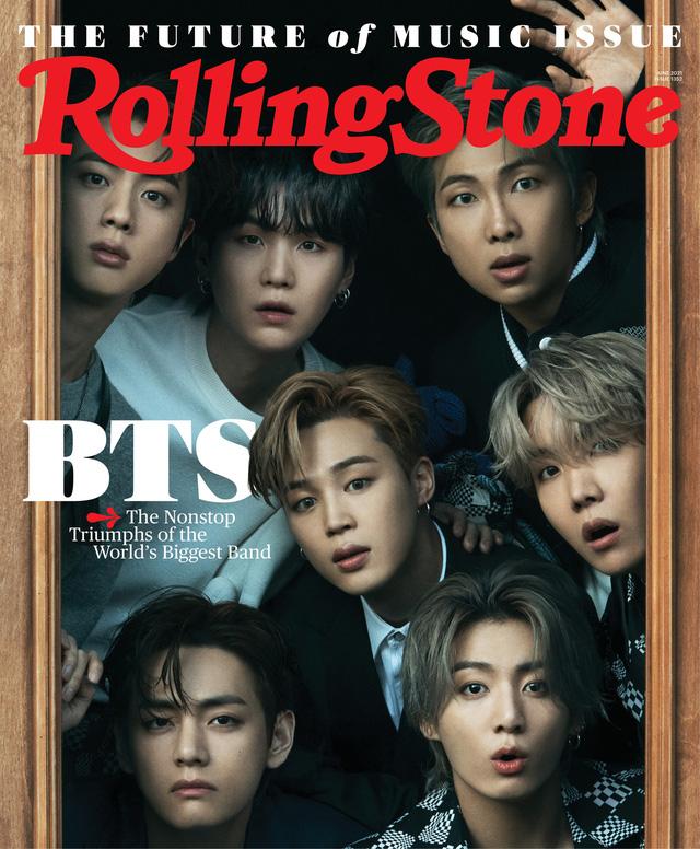 BTS - nhóm nghệ sĩ châu Á đầu tiên lên bìa của Rolling Stone - Ảnh 1.