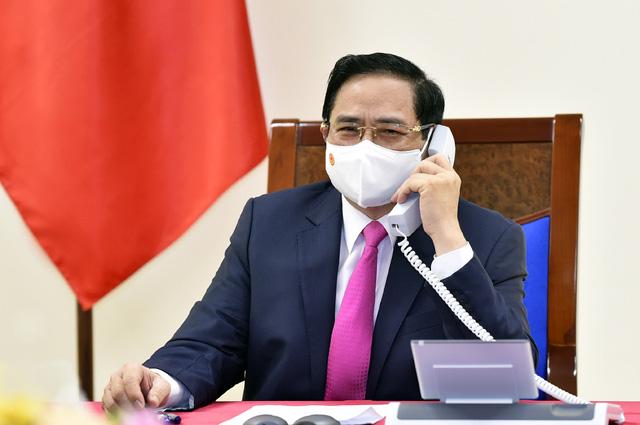Đưa quan hệ đối tác chiến lược Việt Nam - Nhật Bản tiếp tục phát triển mạnh mẽ  - Ảnh 1.