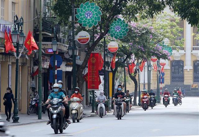 Bầu cử QH và HĐND: Hà Nội hân hoan đón ngày hội lớn - Ảnh 5.