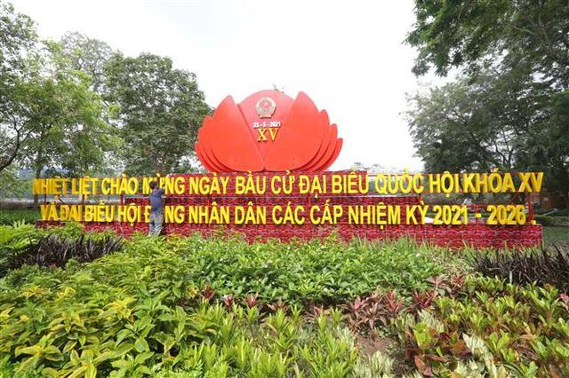 Bầu cử QH và HĐND: Hà Nội hân hoan đón ngày hội lớn - Ảnh 4.