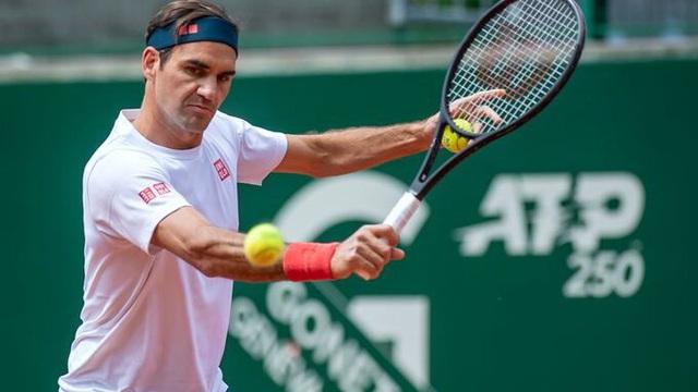 Roger Federer trở lại sau 2 tháng nghỉ thi đấu - Ảnh 3.