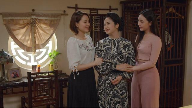 Hồng Diễm sợ Châu lẻ bóng cô đơn đến cuối phim Hướng dương ngược nắng - Ảnh 1.