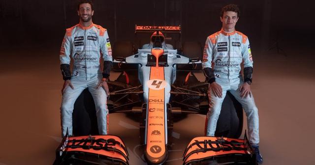 McLaren trình làng màu xe mới tại GP Monaco - Ảnh 1.