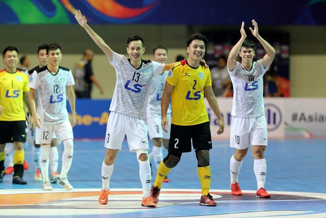 Futsal Việt Nam từng có ký ức ngọt ngào trước futsal Lebanon - Ảnh 2.